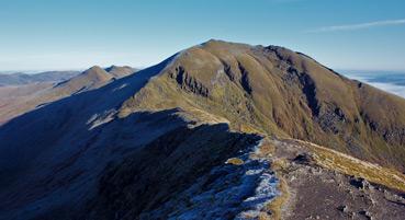 Ben Lawers Mountain Range