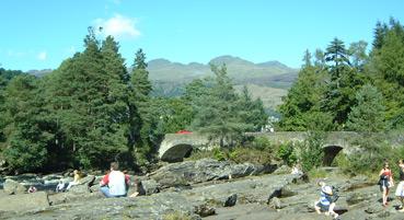 Falls of Dochart Bridge at Killin