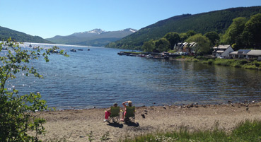 Kenmore Beach, Highland Perthshire