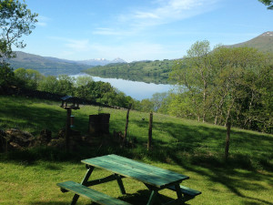 View of Ben More from Beinn Ghlas Lodge Bracken Lodges Self-Catering Holiday Loch Tay Kenmore Killin Perthshire