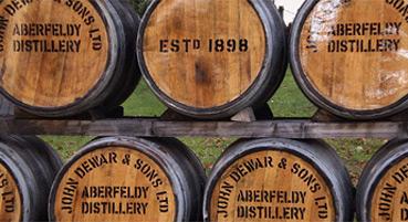 Aberfeldy Distillery Visitor Centre, Dewars Whisky